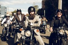 2015 The Distinguished Gentleman's Ride #caferacer #bobber #scrambler #bratstyle #motorcyclesculture | caferacerpasion.com