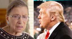Ruth Bader Ginsburg Apologizes — but NOT to Trump — for Her Political Remarks