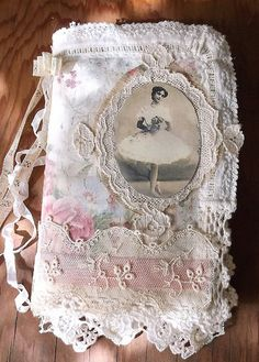 Ballerina Fabric Collage Book, Cover | Flickr
