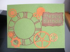 Birthday Card made with my cricut I Card, Birthday Cards, Cricut, Card Making, Frame, Happy, Home Decor, Bday Cards, Picture Frame