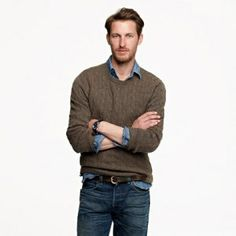 CASHMERE CABLE SWEATER $298