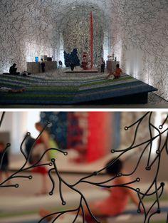 PaperHandTwine: Les Frères Bouroullec aux arts décoratifs de Paris  mars 2013