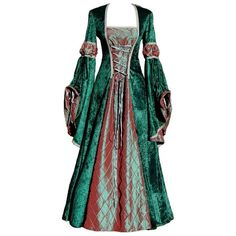 Tumblr ❤ liked on Polyvore featuring dresses, fantasy, gown, period dress and vintage