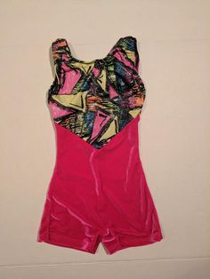 Fun biketard to wear in dance class or can be used as an acro costume. Acro Dance, Dance Costumes, One Piece, Brand New, Swimwear, How To Wear, Stuff To Buy, Collection, Fashion