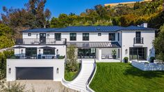 Inside a $16.5 Million Private Oasis in the Heart of Beverly Hills – Robb Report Beverly Hills Mansion, Marble Island, New Property, Lounge Areas, In The Heart, Ground Floor, Nice View, House Tours, Oasis