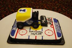 St. Louis Blues Zamboni Groom's Cake