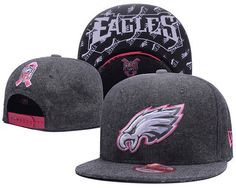 Philadelphia Eagles NFL Heather Wool Snapback Hats 2dba2ecf1