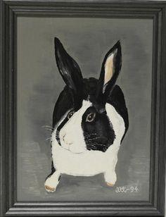 Tiku, 140 € Rabbit, Album, Painting, Animals, Art, Bunny, Art Background, Rabbits, Animales