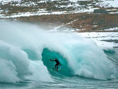 Kieth Malloy in Iceland, photo by Chris Burkard