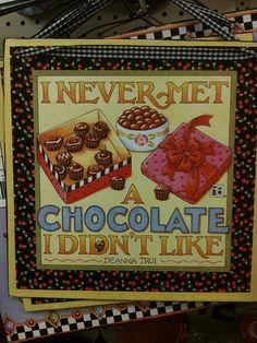 Chocolate + Mary Engelbreit