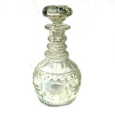 A Georgian decanter, offered by W & L Antiques at Alfies.