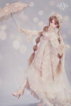 Charlotte Western Dress Fullset/Flower,AS- 1/3 Youth(58-61cm)