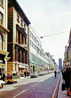 Bold street 1960s Famous for many Time Travel Stories