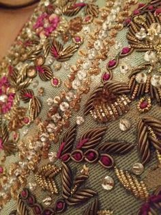 2015 crystal embroidery sabyasachi - Google Search