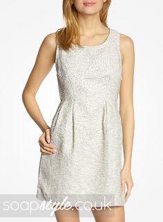 EastEnders Lauren Branning // Jacqueline Jossa // Lauren's White Cutout Back Dress - 20th August '13 [ Click photo for details ▸▸ ]