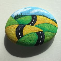 Easy Paint Rock For Try at Home (Stone Art & Rock Painting Pebble Painting, Dot Painting, Pebble Art, Stone Painting, Rock Painting Ideas Easy, Rock Painting Designs, Paint Designs, Stone Crafts, Rock Crafts