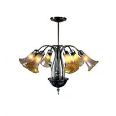 Dale Tiffany - MH100326 - 6 Light Lilies Favrile Chandelier $249.99 Lamps.com  #Inhabitatlamps