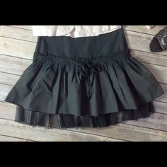 Selling this Lolita double lAyer tulle RUFFLED PARTY mini-skirt in my Poshmark closet! My username is: lastrainhome77. #shopmycloset #poshmark #fashion #shopping #style #forsale #Dresses