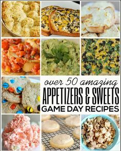 Appetizers & Sweets