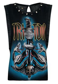 Regata Triton Reta Crazy Preta