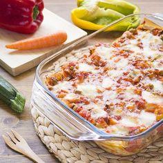 Gnocchi, Veggie Recipes, Pasta Recipes, Cannelloni, Frittata, Lasagna, Cauliflower, Macaroni And Cheese, Good Food