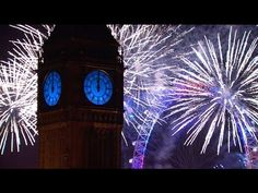 London Fireworks 2016 - New Year's Eve Fireworks - BBC One - YouTube