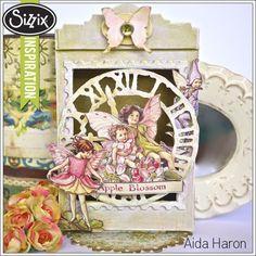 Sizzix Die Cutting Tutorial | Fairy Clock by Aida Haron