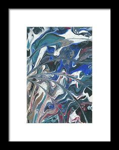Abstract Framed Prin