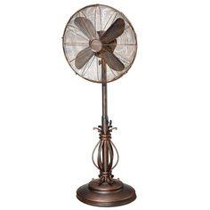 Deco Breeze Cantalonia 16 Inch Floor Standing Fan Stylish Home Appliance