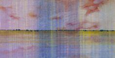 "Saatchi Art Artist Skadi Engeln; Painting, ""Berry rosa-blau durchwebt"" #art"