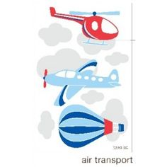 forwalls - Air Transport Wall Decal