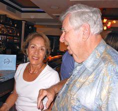 Carmen Meckman & Tom Halbert at the Sarasota Sister Cities August 2011 Meet & Greet at Libby's on Osprey Ave.