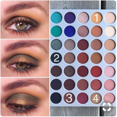 If you'd like to transform your eyes and improve your attractiveness, using the best eye makeup ideas can help. You'll want to make sure you wear make-up that makes you start looking even more beautiful than you are already. Simple Eye Makeup, Eye Makeup Tips, Smokey Eye Makeup, Makeup Goals, Skin Makeup, Makeup Inspo, Beauty Makeup, Jaclyn Hill Eyeshadow Palette, Jaclyn Hill Palette