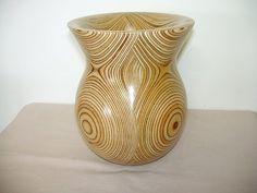 plywood vase