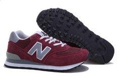 2013 nueva genuina contra la nueva tendencia de zapatos para correr negro azul ML574NR