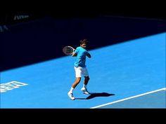 (3) Roger Federer Slow Motion Match Play - YouTube