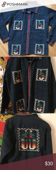 Beautiful Guatemala shirt boho style Beautiful Guatemala embroidery shirt boho bohemian style Other