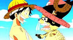 Monkey D. Luffy and Tony Tony Chopper