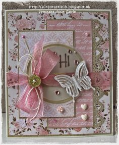 Love this romantic card by Gerie