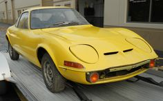 Stored 20 Years: 1970 Opel GT - http://barnfinds.com/stored-20-years-1970-opel-gt/