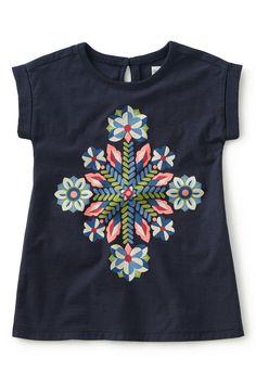 Rainbow Rays Graphic T-Shirt Dress (Baby Girls)