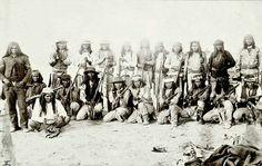 Tzuc (aka) Peaches (White Mtn Apache) Scout With Cyoteros Scouts Arazona/New Mexico 1884