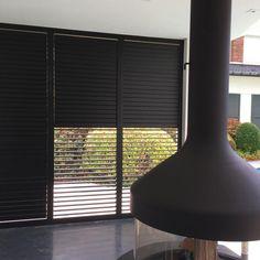 Schuifpanelen   Demaeght Shutters, Blinds, Curtains, Home Decor, Home, Black Roller Blinds, Lawn And Garden, Shades, Decoration Home