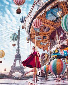 "19.8k Likes, 183 Comments - Kristina Makeeva↟Kotleta↟Timon (@hobopeeba) on Instagram: ""Paris, France, model: @ververa, campaign for @ohmylook.msk, @ohmylook & @g.bar.kiev // Не могу…"""