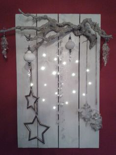 made with pallet - beautiful idea