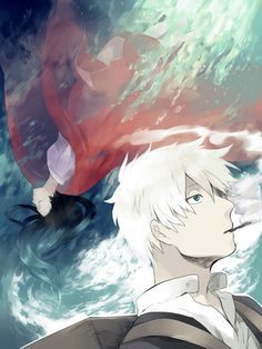 Kai28, Mushishi, Ginko Mushishi Is the girl supposed to be the one from the swamp or the cherry blossom tree?