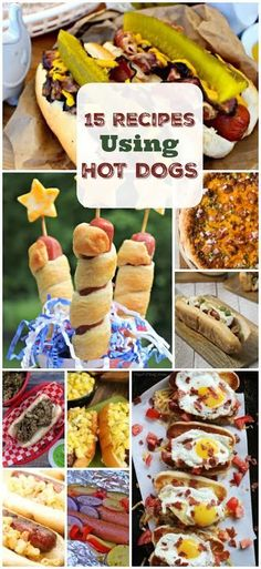 Looking for new ideas for hot dog recipes? Here are some of our favorites for the whole family!
