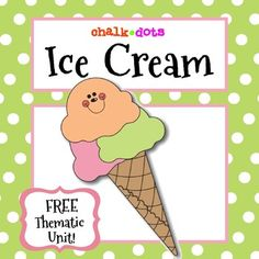 Celebrate ice cream in your classroom! This is a fun thematic unit that…