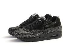 sale retailer 39e29 30bed Nike Air Max 1 Vac Tech WMNS QS – Black   Black Metallic Silver