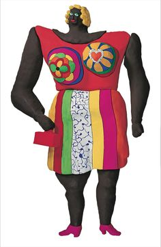 "Niki de Saint Phalle, ""Dolorès"" (1966–95) (© 2014 Niki Charitable Art Foundation, All rights reserved)"